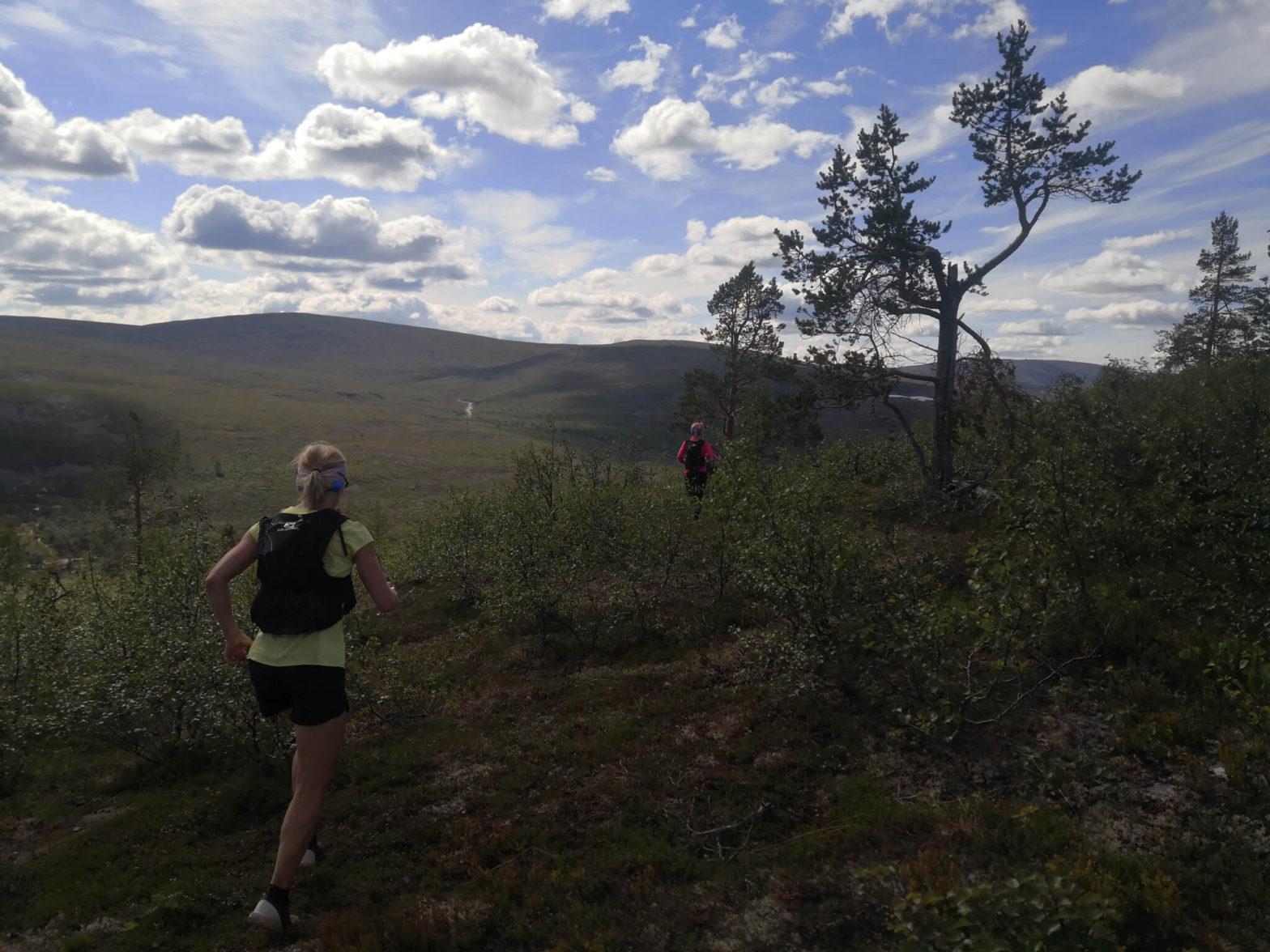 Polkujuoksuvaellus, Urho Kekkosen kansallispuisto 20.–22.7.2021
