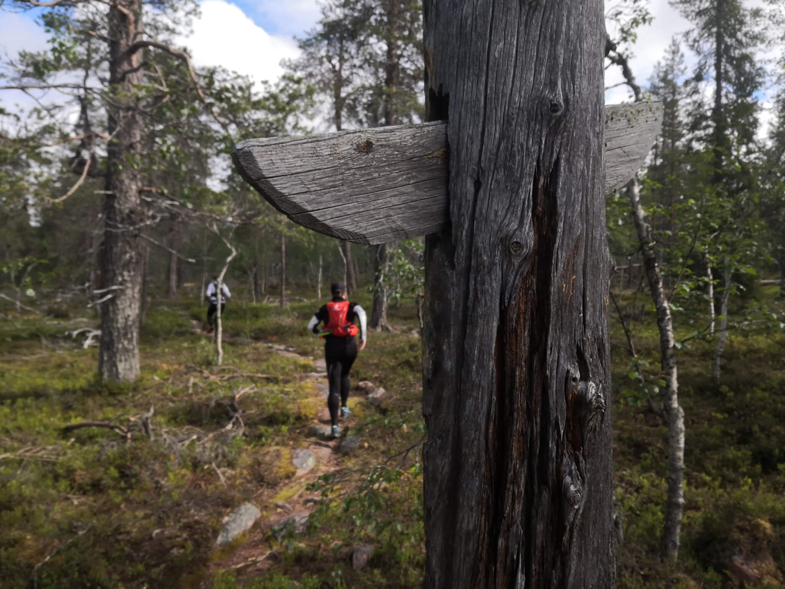 Pitkä polkujuoksu tuntureilla, Urho Kekkosen kansallispuisto
