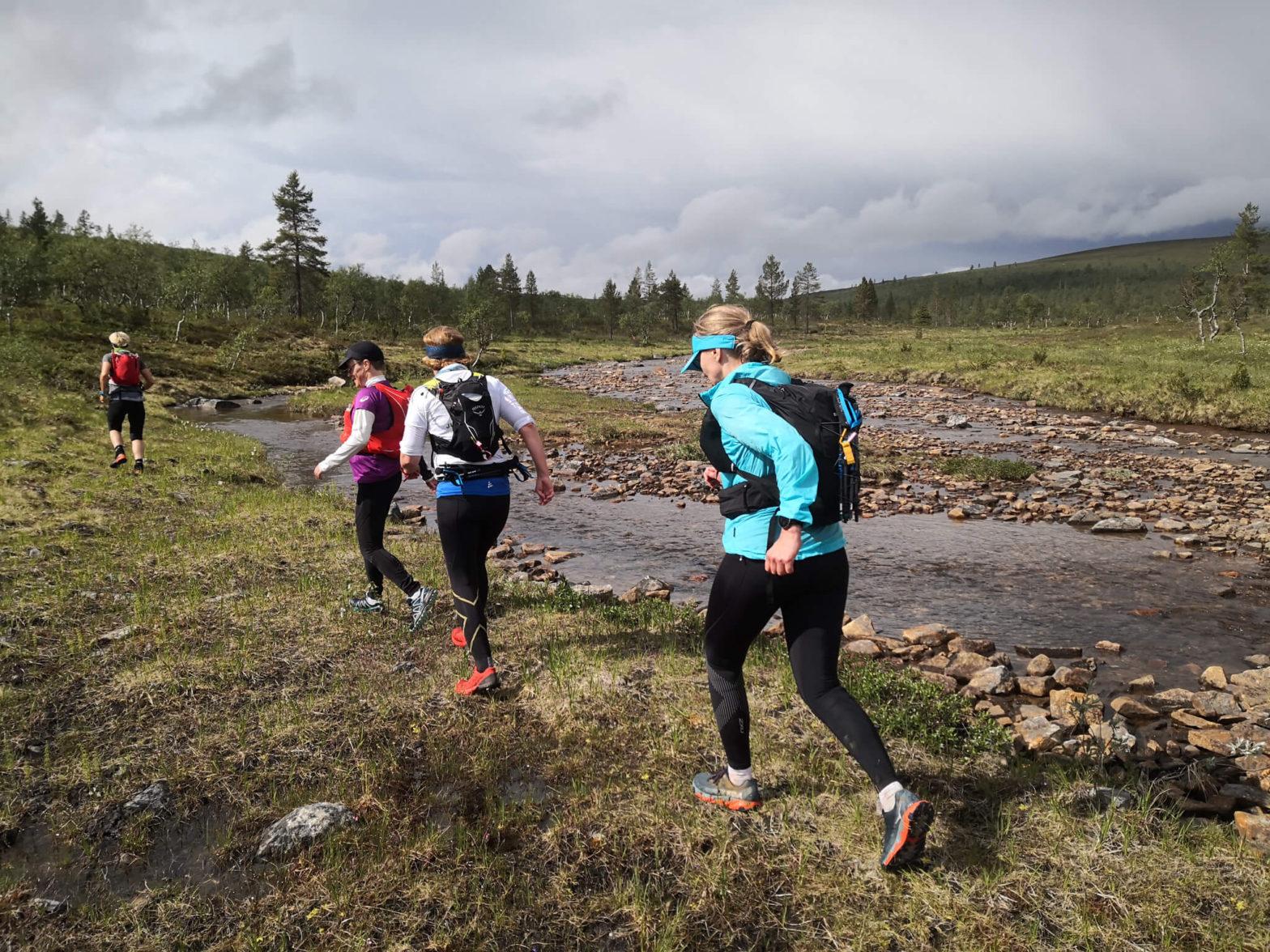 Polkujuoksu tuntureilla ja erämaan juoksutaidot – Kiilopää, Saariselkä, Urho Kekkosen kansallispuisto 14.–17.6.2021